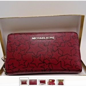 Phone Case Wristlet Michael Kors Jet Set